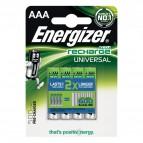 Batterie ricaricabili Energizer - AAA - ministilo - 500 - E300322200 (Conf.4)