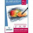 Blocchi per olio e acrilico Canson - A4 - C200005785