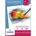 Blocchi per olio e acrilico Canson - A3 - C200005786