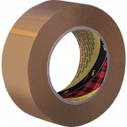 Nastri da imballo Scotch® 3M - poco rumoroso - PPL - 75 mm x 66 m - avana - 48 my - 65869 (conf.6)