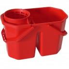 Secchio con strizzatore 2 vasche-  Perfetto Factory - 15 l - 0469H