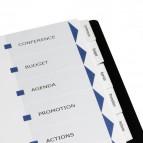 Divisori Index Maker con 6 tasti personalizzabili Avery - 01638061