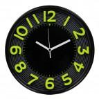 Orologio da parete 3D Methodo - 30,3 - giallo/nero - V150016