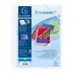 Cartelle 3 lembi personalizzabili Kreacover® Exacompta - bianco - 55992E