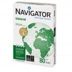 Carta bianca Universal - A4 - 80 gr - bianco - Navigator - conf.  500 fogli - ordine max 25 risme