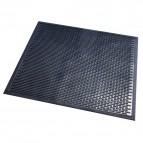 Zerbino in nitrile nero Floortex - 75x85 cm - nero - SC8575