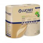 Eco Natural Lucart - rotolo - 2 veli - 400 strappi - 811927 (conf.4)