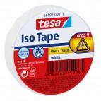 Nastro isolante Tesa - bianco - 56192-00011-02