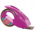 Dispenser per nastri da imballo Pack&go Tesa - rosa - 51113-00000-00