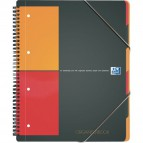 Blocco spiralato ORGANISERBOOK INTERNATIONAL Oxford - A4+ - 5 mm - 80 - 100102777