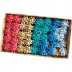Stelle adesive per pacchi regalo Brizzolari - liscio - tinta unita - 35 mm - 2900 (conf.100)