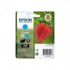 Originale Epson inkjet cartuccia A.R. fragola Claria Home T29XL - 6.4 ml - ciano - C13T29924012