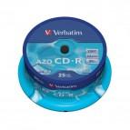 CD Verbatim - CD-R - Spindle - 52x - 43352 (conf.25)