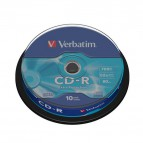 CD Verbatim - CD-R - Spindle - 52x - 43437 (conf.10)