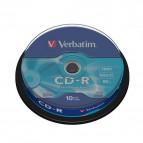 CD Verbatim - CD-R - Spindle - 52x - 43437 (conf.10)