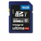 Flash memory card Integral - 16 GB - INSDH16G10-80U1