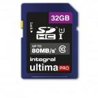 Flash memory card Integral - 32 GB - INSDH32G10-80U1
