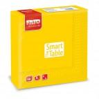 Tovaglioli in carta Fato - 33x33 cm - giallo - 82621200 (conf.50)