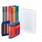 Astuccio in plastica Pen 68 Stabilo - 6820-03 (conf.20)