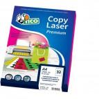 Etichette Copy Laser Prem.Tico fluo Las/Ink/Fot ang.arrot. 47,5x25,5mm giallo - LP4FG-4725 (conf.70)