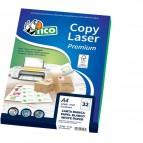 Etichette CD Copy Laser Premium Tico - Etichette per Las/Ink/Fot - Ø117 mm LP4S-CD117 (conf.25)