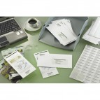 Etichette Copy Laser Prem.Tico indirizzi A4 Las/Ink/Fot ang.arrot. 47,5x35 mm - LP4W-4735 (conf.100)