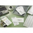 Etichette Copy Laser Prem.Tico indirizzi A4 Las/Ink/Fot ang.arrot. 99,1x34 mm - LP4W-9934 (conf.100)
