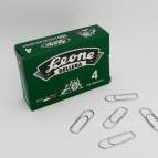 Fermagli zincati N.4 - lunghezza 32 mm - Molho Leone - conf. 100 pezzi