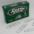 Fermagli zincati N.6 - lunghezza 58 mm - Molho Leone - conf. 100 pezzi