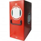 Cartella progetto Xstore AAD Arcasud - Dorso 12 cm - rosso - 0261RO
