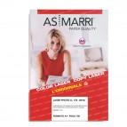 Carta laser - A4 - 170 gr - effetto lucido fronte/retro - bianco - As Marri - conf. 100 fogli
