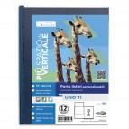 Portalistini personalizzabile Uno TI - 25x35 cm - 12 buste - blu - Sei Rota