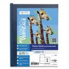Portalistini personalizzabile Uno TI - 25x35 cm - 24 buste - blu - Sei Rota