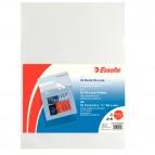 Cartelline a L - De Luxe - PPL - buccia - 22x30 cm - trasparente - Esselte - conf. 50 pezzi