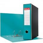 Registratori Eurofile Esselte - protocollo - 8 cm - 23x33 cm - turchese - 390755800