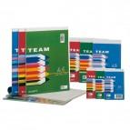 Blocco note Team - 5mm - 210 x 297mm - 50gr - 60 fogli - Blasetti