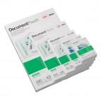Pouches per plastificazione - german card - 83x113 mm - 2x125 micron - GBC - scatola 100 pezzi