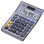 Calcolatrice da tavolo MS-120TERII - 12 cifre - azzurro - Casio
