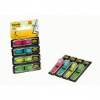 Segnapagina Post-it® Index Mini Freccia - 4 colori vivaci - Post-it - conf. 96 pezzi