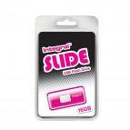 Chiavette USB Integral Slide - 16 GB - USB 2.0 flash drive - rosa - INFD16GBSLDPK