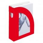 Portariviste E803 - 24,5x30 cm - dorso 7,5 cm - rosso - Fellowes