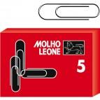 Fermagli zincati N.5 -  lunghezza 50 mm - Molho Leone - conf. 100 pezzi