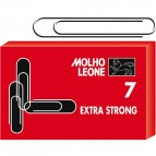 Fermagli zincati N.7 - lunghezza 75 mm - Molho Leone - conf. 25 pezzi