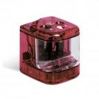 Temperamatite elettrico 4306  con contenitore - 2 fori  - colori assortiti - Lebez