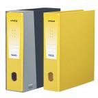 Registratore Unico - dorso 8 cm - protocollo 23x33 cm - giallo - Favorit