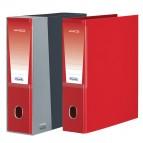 Registratore Unico - dorso 8 cm - protocollo 23x33 cm - rosso - Favorit