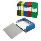 Scatola archivio Spazio - dorso 8 cm - 25x35 cm - blu - Sei Rota