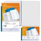 Portalistini personalizzabile Uno TI - 30x22 cm (album) - 24 buste - blu - Sei Rota