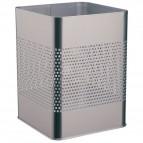 Cestini in metallo Durable - forma quadrata - argento metallizato - 3321-23