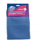Panno per pavimenti - microfibra - 40x60 cm - blu - Logex Professional
